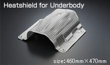 Heatshields for Underbody size:460mm*470mm